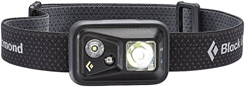 (Black Diamond Spot Headlamp, Black, One Size)