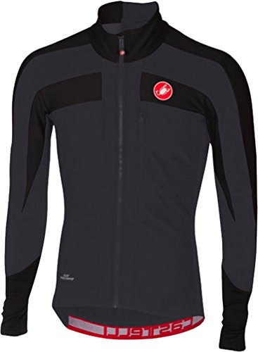 - Castelli Trasparente 4 Long-Sleeve Jersey - Men's Light Black/Black, XL
