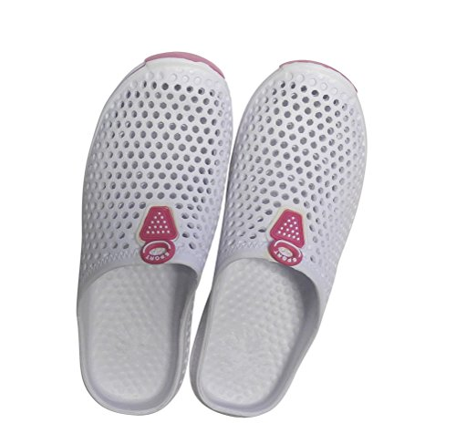 Sneaker Clogs With Womens DINY Style On Ladies Pink Slip Sandals White amp; Home BSw0qaR