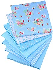 ShuanShuo 10 Kinds Cotton Fabric Quilting Patchwork Fabric Fat Quarter Bundles Fabric For Sewing DIY Crafts Handmade Bags 40X50cm 7pcs/lot