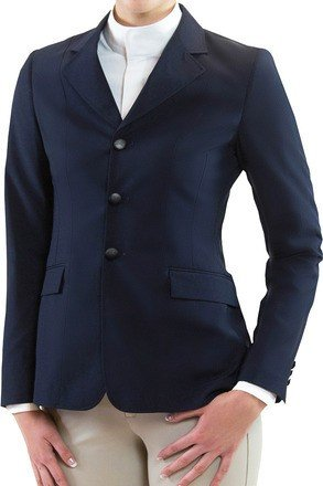 RJ Classics Girls Hailey Softshell Show Coat ... (Navy, 12) (Show Classic Jacket)