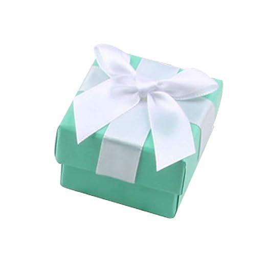40 cajas de regalo para joyas, portátil, rectangular, con ...