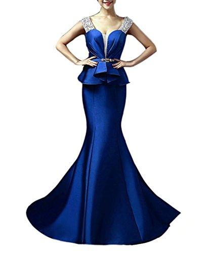 Emmani Emmani Donna Blue Vestito Donna Vestito 4YH1cq0f