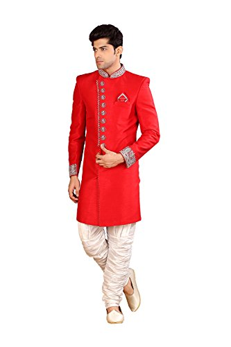 25434 Red Traditional Pcc Wedding Partywear Designer Indo Mens Western R nq66IWzp