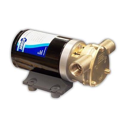 Image of Bilge Pumps Jabsco 18670 Series Marine Water Puppy Bilge / Sump Flexible Impeller Commercial Duty Pump 470-GPH,15-Amp Non-CE, 1/2' NPT Ports