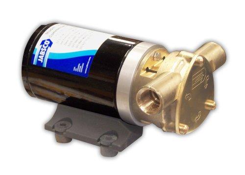Jabsco 18670-0123 Marine Water Puppy Bilge / Sump Flexible Impeller Commercial Duty Pump 470-GPH, 12-Volt, 15-Amp Non-CE, 1/2