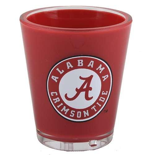 Duck House Alabama Crimson Tide Shot - Glass Alabama