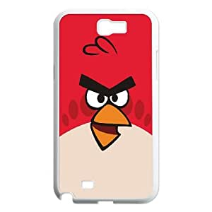 Samsung Galaxy N2 7100 Cell Phone Case White Angry Birds Red Bird OJ410126