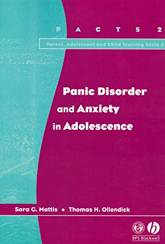Panic Disorder and Anxiety in Adolescence PDF