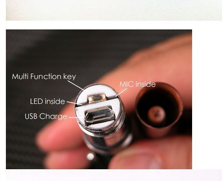 6277a53d862 ... New Smallest Micro Spy Earpiece Bluetooth Pen Wireless Micro Hidden Bug  for Private Communication ...