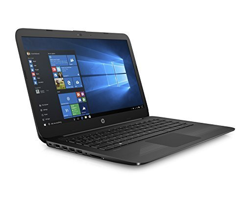 - HP Stream 14 Inch Laptop (2018 New), Intel Celeron N3060 Processor, 4GB RAM, 32GB eMMC Storage, Office 365 Personal 1-year included, Windows 10 Home, Jet Black
