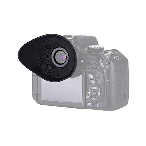 JJC Large Oval Shape Eyeshade / Eyecup for Select Canon C...