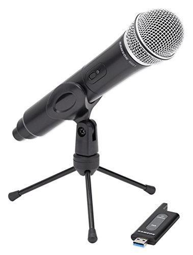 SAMSON Stage X1U Handheld USB Wireless Podcast Podcasting Microphone+Desk Stand by Samson Technologies