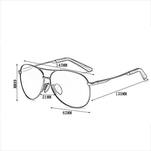 de de Conducción Sol de Cambio Sol B Gafas Color polarizadas Sol Gafas Color Gafas de A Gafas de wtqznpR