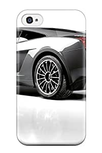 Chris Camp Bender's Shop Best 8873707K93890523 Case Cover Lamborghini Gallardo Superleggera 2/ Fashionable Case For Iphone 4/4s