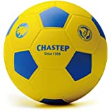 "Chastep 8"" Integral Skin Foam Soccer Ball Perfect for Kids or Beginner Play and Excercise Durable for Outdoor Play - Yellow(2nd Generation)"