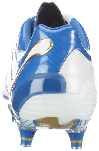 Puma Powercat 1.12 Sg Menns Lær Fotball Støvler / Cleats Hvite