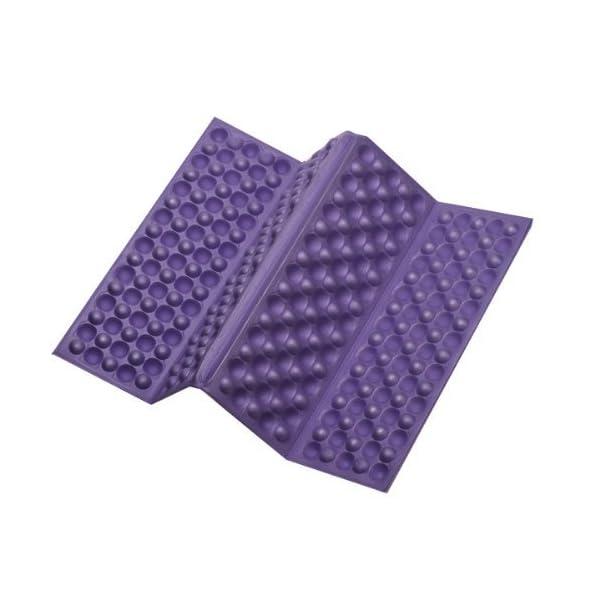 Omeny Outdoor schiuma giardino di campeggio pieghevole sedile impermeabile cuscino per sedia cuscino (viola) 2 spesavip