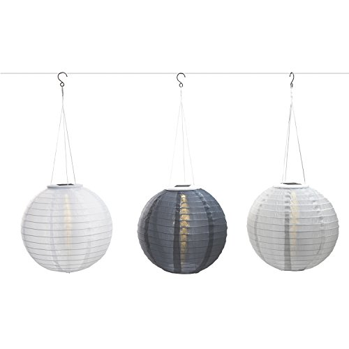 Review 3 Gray Solar Hanging