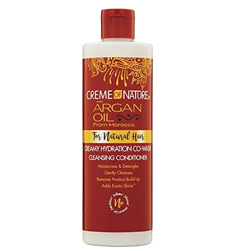 Crème of Nature with Argan Oil from Morocco Pure-licious Co-wash Cleansing - Milk Uni