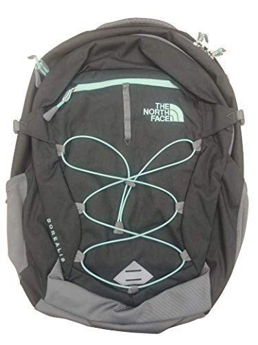 The North Face Women Borealis Backpack (Zinc Grey Light Heather Surf Green) (The North Face Borealis Backpack Zinc Grey Heather)