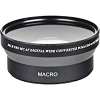 0.45x 72mm Professional High Speed Auto Focus Deluxe Wide Angle Converter Lens