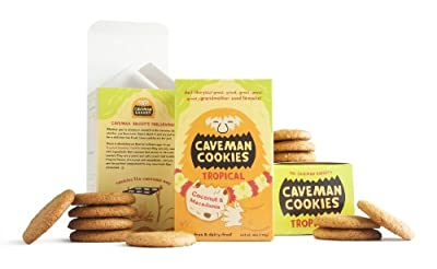 Tropical Caveman Cookies