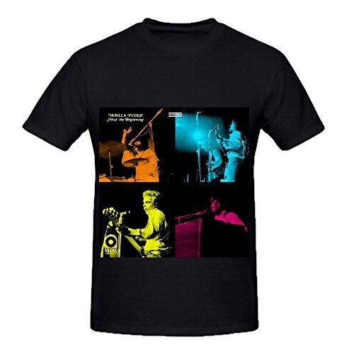 Vanilla Fudge Near The Beginning Tour Electronica Mens O Neck Music Tee (Hatteras Rocker)