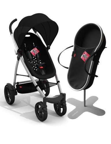 Amazon.com : phil&teds Smart Buggy Bassinet and Stroller Bundle ...