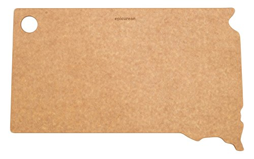 "Epicurean State of South Dakota Cutting and Serving Board, 14.5 by 9"", Natural"