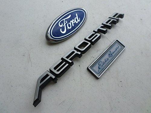 87-94 Ford Aerostar Eddie Bauer Rear Trunk Logo Emblem Decal Ornament Script Decorative Sticker Set