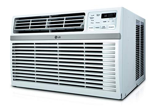 LG Energy Star Rated 6,000 BTU Window Air Conditioner White