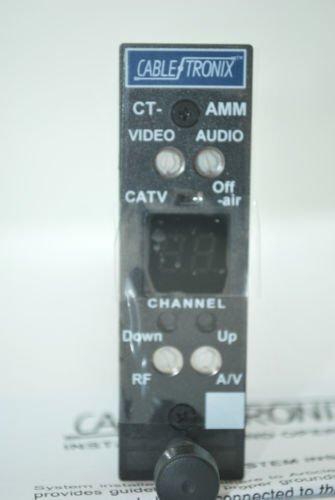 NEW CABLETRONIX DIGITAL AGILE CT-AMM AUDIO/VIDEO CHANNEL MINI MICRO MODULATOR HEADEND CATV OFF AIR ()
