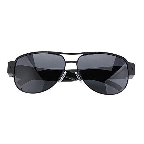 Spy Eyeglsses Mini Camera Sunglasses 1080P HD Hidden Cam Camcorder Video DV DVR Recorder + 8GB SD TF Card [並行輸入品] B01MQUMQ8G