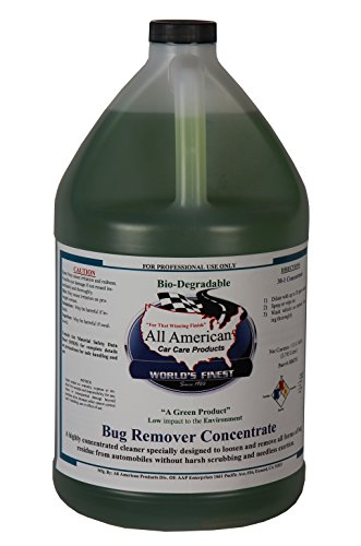 All American Car Care Products Bug Remover Concentrate (1 Gallon)
