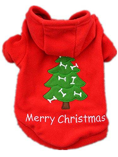 Traje de Santa Claus de Navidad para perros. Para salir a la calle ya que es un traje calentito. RETUROM