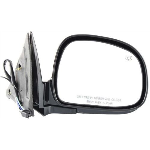 Make Auto Parts Manufacturing - S10 PICKUP/BLAZER 98-98 MIRROR RH, Power, Heated, Manual Folding, Paint to Match - GM1321171