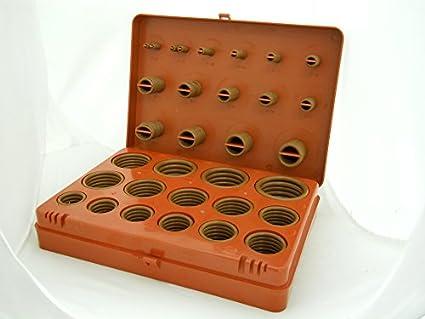Viton O-ring Kit 30 Sizes / 382 Pieces: O Ring Seals: Amazon.com ...