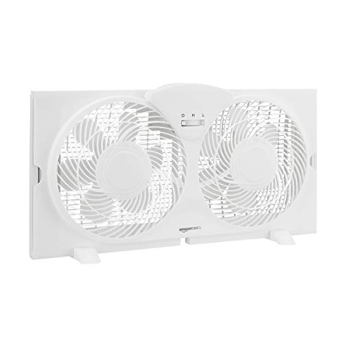 AmazonBasics Window Fan with Manual
