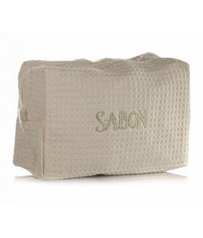 SABON Toiletry Bag, Cream