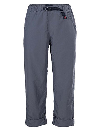 Gramicci Women's Roll Up G Pants, Asphalt Grey, Size 31 x X-Large (Nylon Gramicci Shorts)