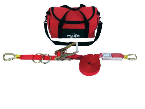 3M Protecta PRO-Line 1200105 3M Protecta 60' Horizontal Lifeline System with Carrying Bag, Red by 3M Fall Protection Business (Image #2)
