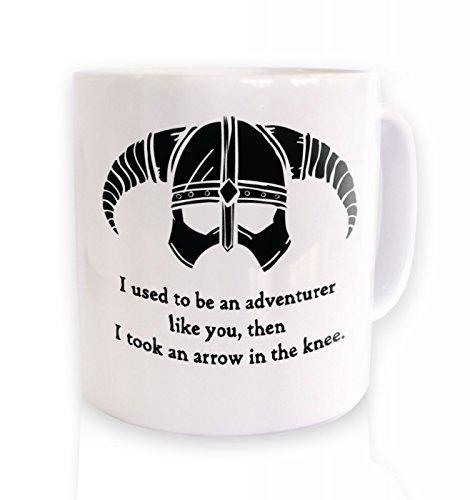 Scroll Coffee (Arrow In The Knee (black Detail) Mug)