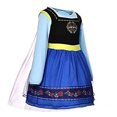 Princess Generic Costume Dress Up for Toddler Girls Birthday Party (24M - 6T): Clothing