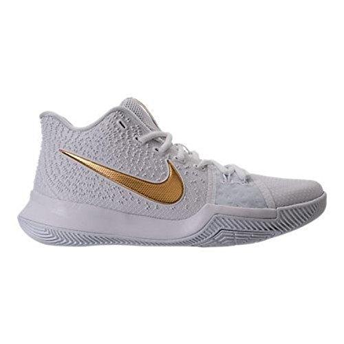 Nike Mens Kyrie 3 Ep, Obsidiaan / Metallic Goud-top Wit Wit / Goud / Goud