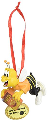 Department 56 General Mills Cheerios Bee Hanging Ornament, fun bee ornaments for christmas