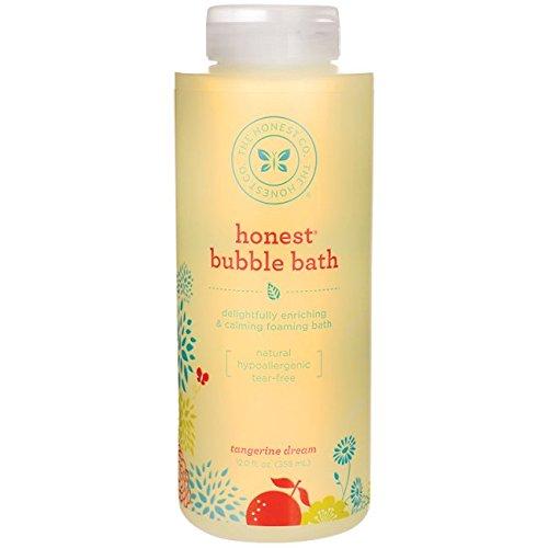 The Honest Company - Perfectly Gentle Tear-Free Bubble Bath - Sweet Orange Vanilla, 12 oz (Gentle Tear)
