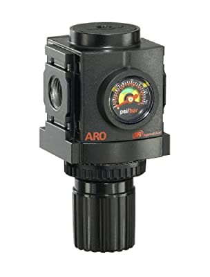 "ARO R37231-600-VS Air Regulator 3/8"" NPT, w/ Gauge - 250 psi Max Inlet"