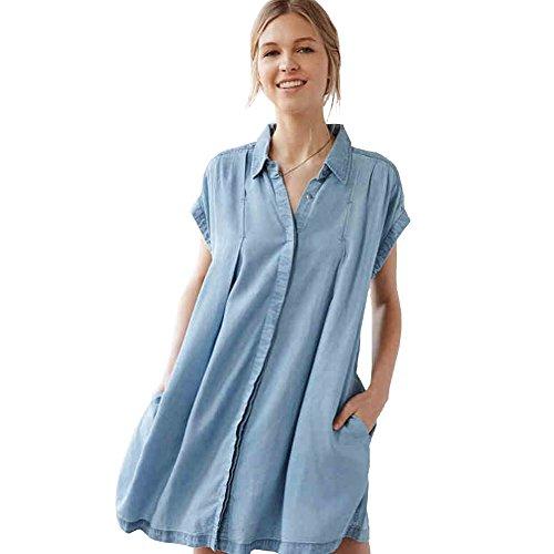 Women's Fashion Loose Leisure Dress Single