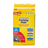 Glad for Pets Black Charcoal Puppy Pads-New